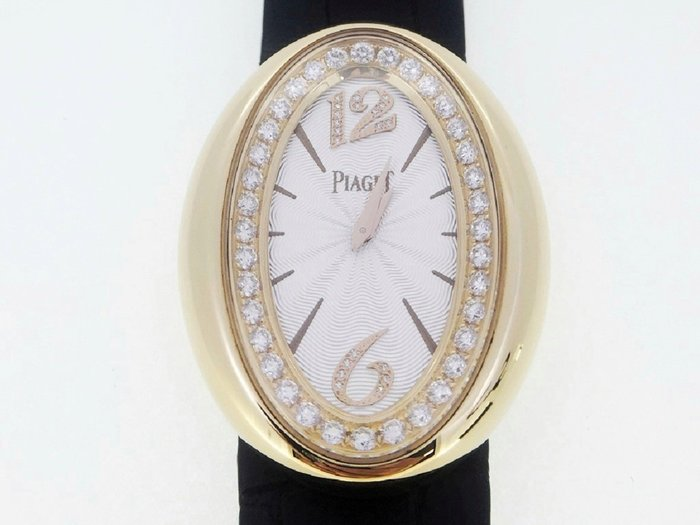 【英皇精品集團 】PIAGET 伯爵 Limelight Magic Hour 玫瑰金 原鑲鑽錶 石英女錶
