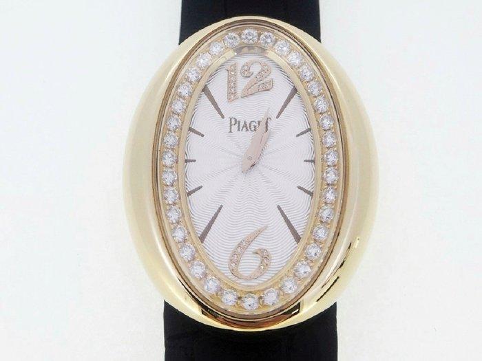 PIAGET 伯爵 Limelight Magic Hour 玫瑰金 原鑲鑽錶 石英女錶