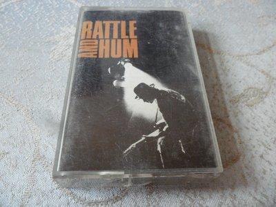 【金玉閣L02】錄音帶~U2 /RATTLE~飛碟唱片