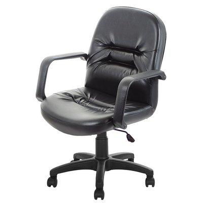 GXG 短背皮面 電腦椅 (可後躺/塑膠腳) 型號1003 EK