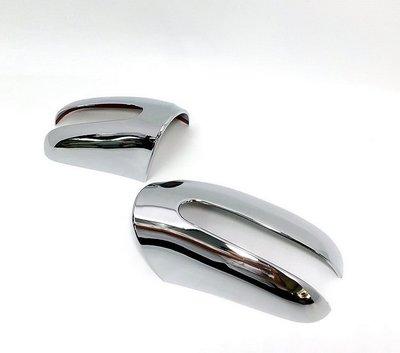 圓夢工廠 Benz S W220 S320 S350 S430 S500 1998~2002 改裝 鍍鉻銀 後視鏡蓋