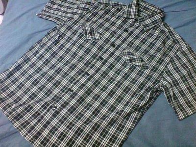OVERKILL OVK 08' A/W CHECKED SHIRT 黑 白 格紋 襯衫 XL 號
