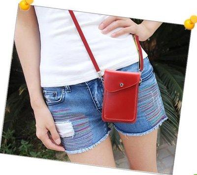【GooMea】3免運Samsung 三星 A31 6.4吋 雙層斜背 掛脖 掛頸 紅粉 手機袋 保護套 皮套