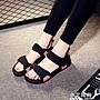 新款夏季羅馬鞋涼鞋女仙女風海邊外穿沙灘鞋...