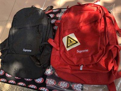 全新正品 SUPREME 2019 BACKPACK  雙肩後背包
