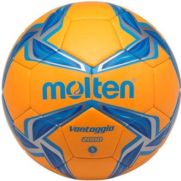 體育課 MOLTEN F3V2000-OB 合成皮  #3合成皮足球(橘)  中華民國足球協會指定用球