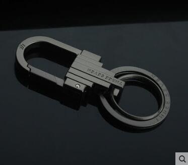 男女汽車用鑰匙鏈金屬腰掛鑰匙圈鑰匙環Dhh1583