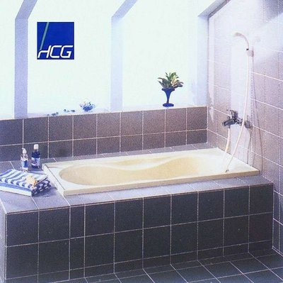 【工匠家居生活館 】HCG 和成衛浴 F6050 塑鋼浴缸 SMC浴缸【 無牆 】153*72*52cm 浴缸