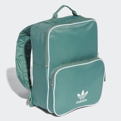 ADIDAS ORIGINALS CLASSIC 綠色 湖水綠 背包 書包 小背包 後背包 CW0623 請先詢問庫存