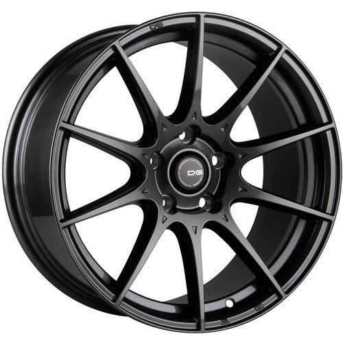 『台灣輪胎王』DG FG06 17吋 旋壓輕量化鋁圈 全車系適用 消光鐵灰【配胎套餐大折扣】
