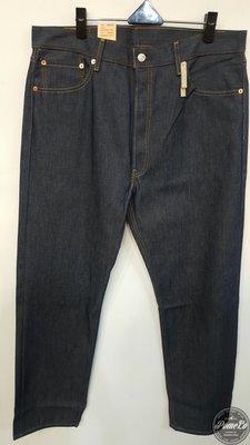 柚子的拍賣 現貨 Levis 501 Original Shrink to Fit 501-0000 上漿 硬挺 深藍