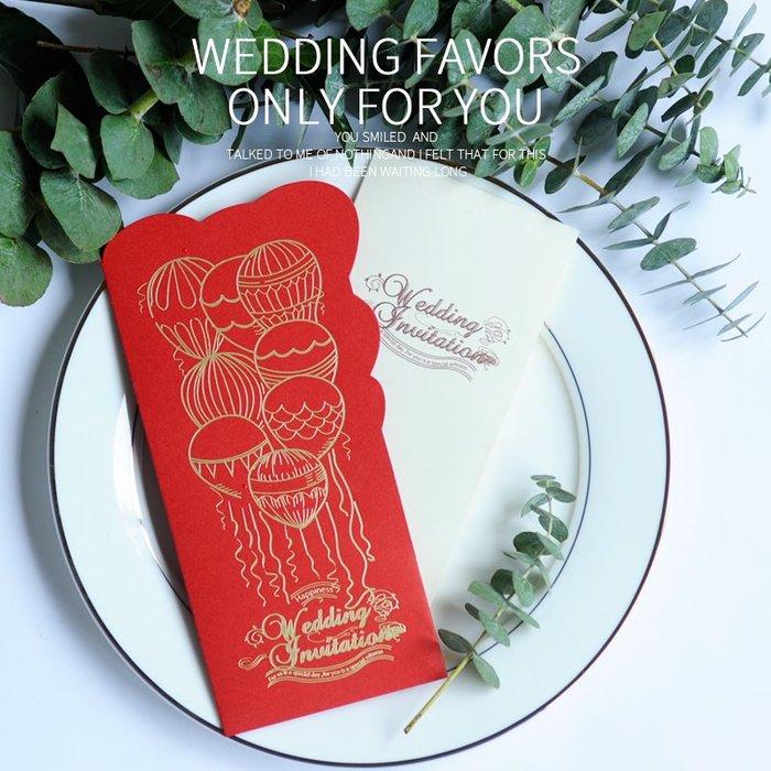 衣萊時尚-熱賣款  請柬結婚創意請帖喜帖韓式婚禮邀請函 XD36