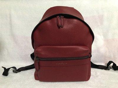 100%real & new Ferragamo 真皮 背包 Backpack 原價近$15,000