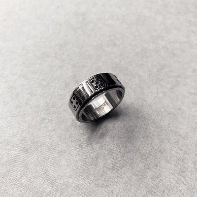 【inSAne】訂製款 / 骰子 / 旋轉 / 戒指 / 飾品 / US7 & US8 & US9