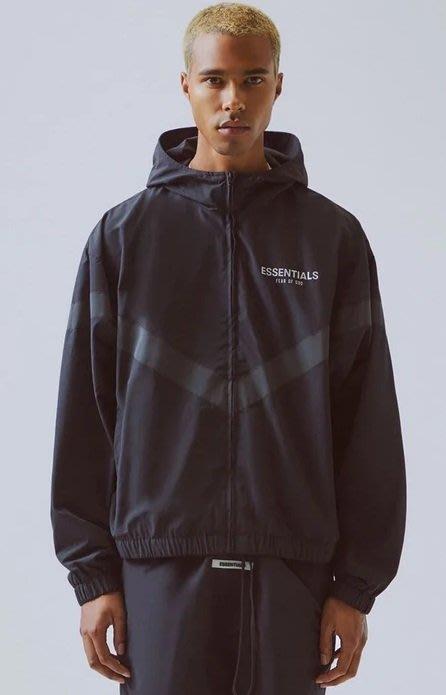 全新商品 Fear Of God FOG Essentials Reflective Jacket 3M反光 風衣 外套