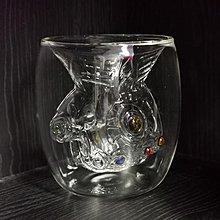 復仇者聯盟熱潮(無限手套)雙層玻璃水杯