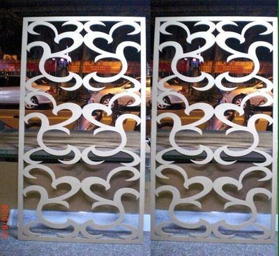 *Butterfly*木板夾板密集板切割鏤空*屏風*窗花*櫥窗門片*專幫設計公司及同行代工B03