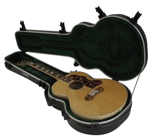 《民風樂府》美國 SKB-20 CASE Gibson JUMBO型民謠吉他用吉他箱硬盒 全新品 現貨在庫