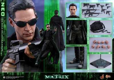 二手 Hot Toys The Matrix NEO MMS466