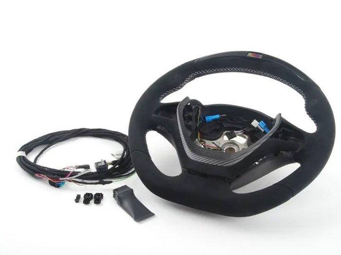 【樂駒】BMW M Performance 電子 方向盤 Carbon 碳纖維 飾蓋 Steering Wheel