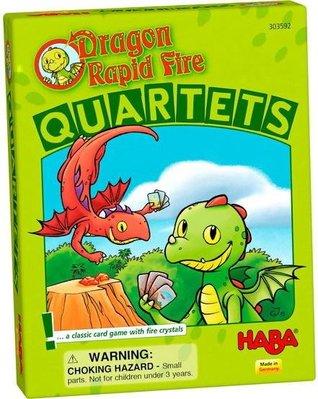 【陽光桌遊】旋風谷卡牌 Dragon Rapid Fire - Quartets 外文版 附中規 正版