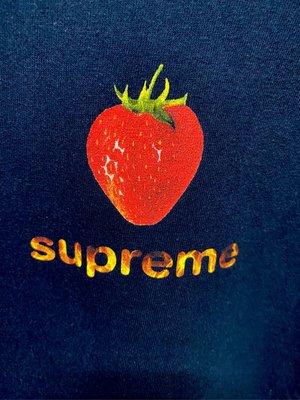 SUPREME  16SS Strawberry T  ,草莓T