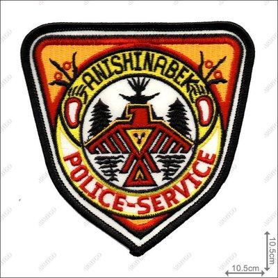 【ARMYGO】加拿大警 Anishinabek 警用繡章