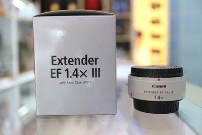 【日產旗艦】全新 Canon Extender EF 1.4x III 三代 加倍鏡 增距鏡 公司貨 1.4倍 望遠