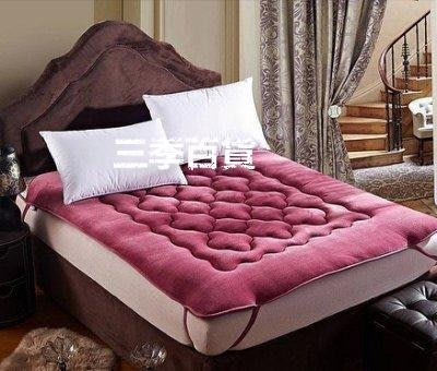 三季法萊絨珊瑚絨被子打地鋪居家吸濕保暖加厚床褥子單人學生宿舍90cm雙人1.51.8榻榻米3D❖871