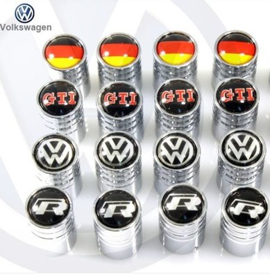 VW 汽嘴蓋 汽門嘴 風嘴蓋  GTI ABT GTI GOLF BEETLE TIGUAN CC VENTO 沂軒精品