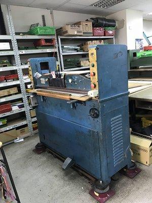 億整機械(桃園廠)~4呎油壓裁斷機,狀況良好,歡迎來電洽詢~中古機械~