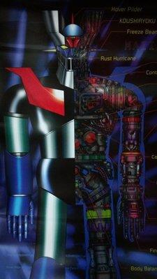 《灣老師咖賀》懷舊童年 無敵鐵金剛 卡通影片 絕版海報