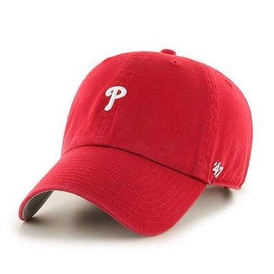 【血拼妞】47 BRAND PHILADELPHIA PHILLIES ABATE 費城費城人隊 紅色 老帽 《預購》