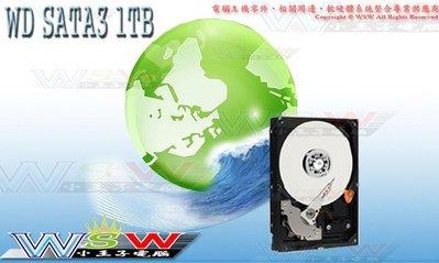 【WSW 硬碟】WD SATA3 1TB 自取1180元 WD10EZEX藍標/7200轉 零組件報價 專業維修 台中市