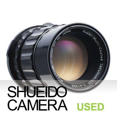 集英堂写真機【3個月保固】良品 PENTAX 67 6X7 S.M.C TAKUMAR 200mm F4 15346