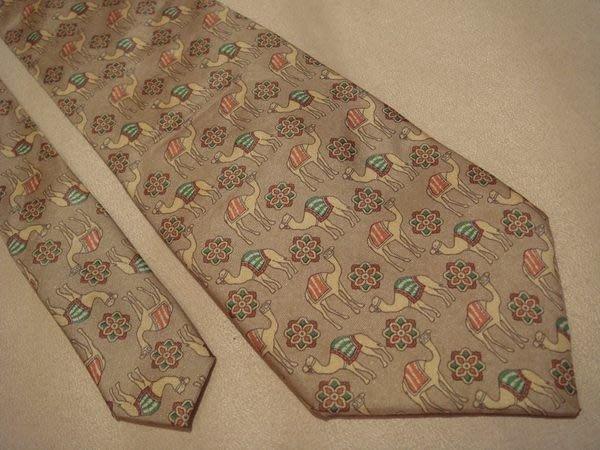 破盤清倉大降價!全新從未用過的義大利品牌 Van Lorer 純絲領帶,無包裝盒, 低價起標無底價!本商品免運費!