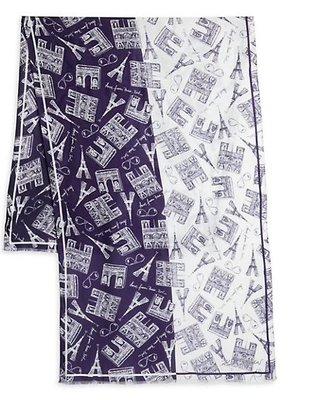 Karl Lagerfeld Paris Monumental Printed Scarf