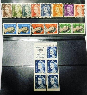 澳大利亞(Australia) 伊麗莎白二世 1966-73 - 5c booklet pane 386ca (umm)