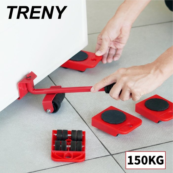 【TRENY直營】TRENY 家具搬家移動器 家具移動 荷重150KG 3067