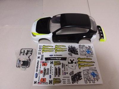 1/10 雙星 TAMIYA Ken box Subaru Impreza WRX STi Rally 遙控車車殼