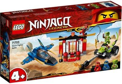 台中**宏富玩具**LEGO 樂高積木 Ninjago 71703 風暴戰鬥機之戰