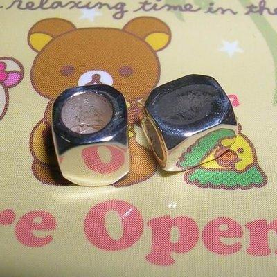琥珀貓~【925純銀材料配件】方角珠~N8961款~5X6mm~一個