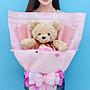 娃娃夢幻樂園~ 玫瑰熊花束~ 泰迪熊花束~ 玫瑰熊...