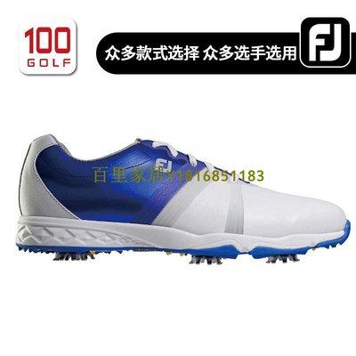 百里家居FootJoy高爾夫球鞋男 新品ENERGIZE男士高爾夫球鞋 FJ高爾夫鞋