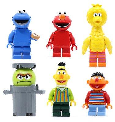 木木玩具 樂高 Lego 21324 芝麻街人偶