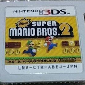 請先詢問庫存量~ 裸卡~  3DS 瑪莉歐 瑪莉 2 新超級瑪利兄弟2 NEW 2DS 3DS LL N3DS LL 日規主機專用
