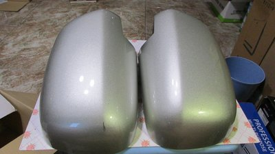 自售 LEXUS 凌志 2003~2009 RX330 RX350 銀色照後鏡殼左右一組