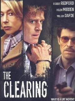電影【家變 --  The Clearing 】DVD1套,勞勃瑞福、海倫米蘭等主演,全新未拆封,台灣3區正版。