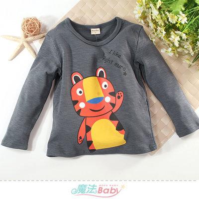 童裝 秋冬厚款柔棉長袖T恤 魔法Baby k61173