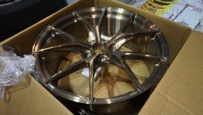 VW NEW TIGUAN 20吋BC Forged 鍛造訂製鋁圈,專用規格 訂製顏色5X112,GOLF PASSAT